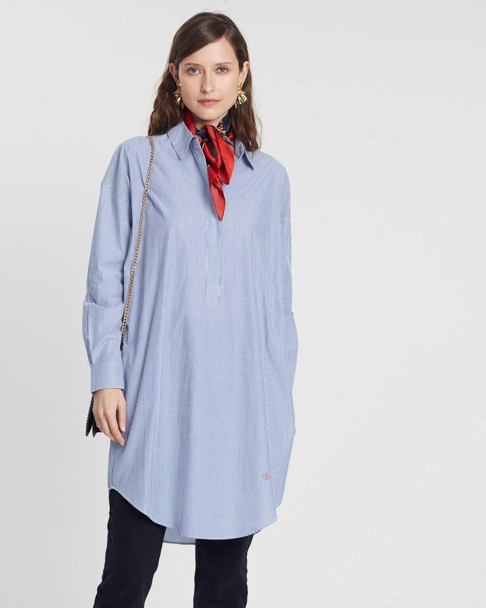 e9b6b08a37e Tunic Shirt Dress by Maison Scotch Online | THE ICONIC | Australia