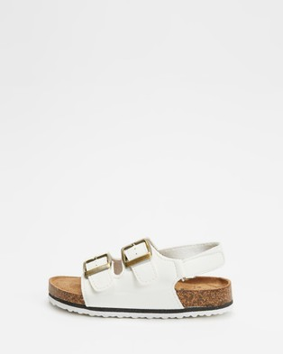 Cotton On Kids - Theo Sandals (Cloud White)