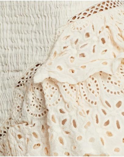 Kinga Csilla Rebecca Skirt - Iconic Exclusive Ivory