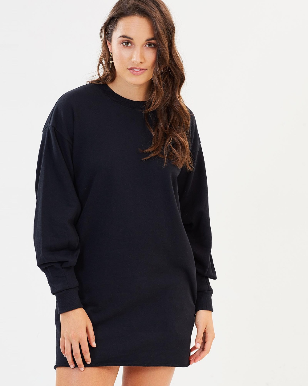 Rusty Cool It Fleece Dress Dresses Black Cool It Fleece Dress