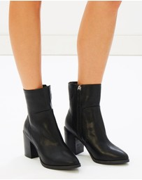 SPURR - ICONIC EXCLUSIVE - Paris Block Heel Ankle Boots
