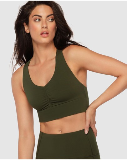 Lorna Jane - Ruched Front Sports Bra