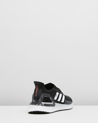 adidas Performance Ultraboost PB   Men's Running Shoes - Performance Shoes (Core Black, Cloud White & Signal Coral)