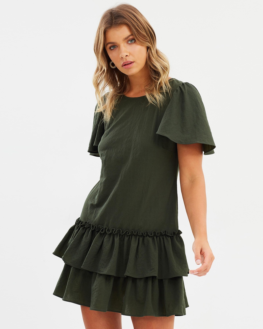 Backstage Frill Me Dress Dresses Forest Frill Me Dress
