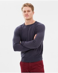 North Sails - Round Neck Stretch Cotton Knit