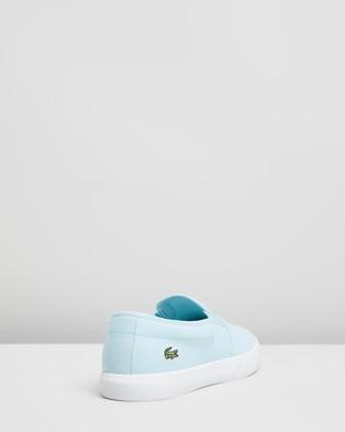 Lacoste Tatayla Slip On Sneakers   Women's - Slip-On Sneakers (Light Blue & White)