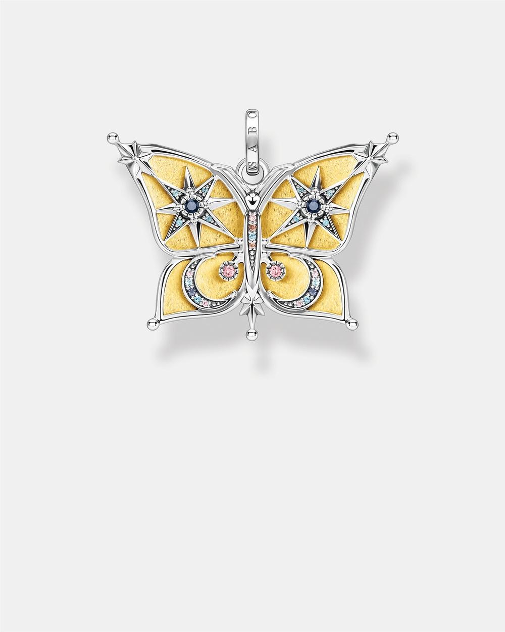 THOMAS SABO Pendant Butterfly Jewellery Multi