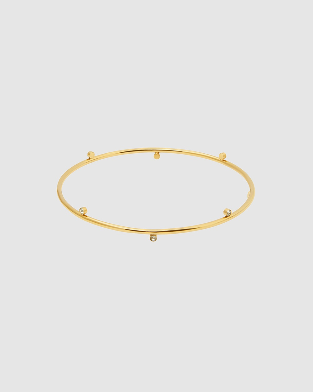 Pastiche Starry Night Bangle Jewellery Gold