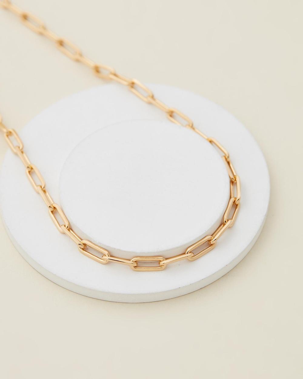 Jackie Mack Mar Necklace Jewellery 18k Yellow Gold Vermeil