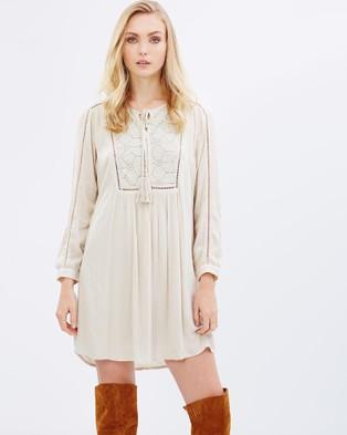 Kaja Clothing – Dagmar Dress – Dresses (Brown)