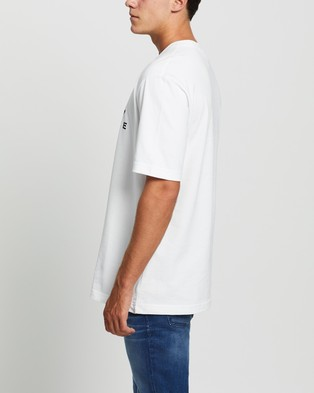 adidas Originals adidas Adventure Big Logo Tee - T-Shirts & Singlets (White)