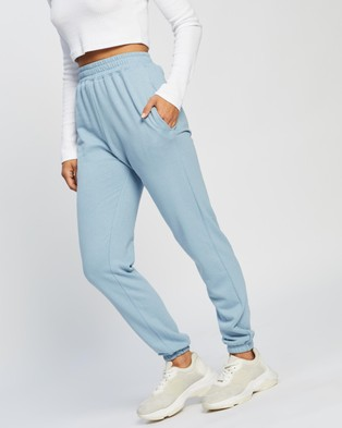 Missguided Basic Joggers - Sweatpants (Blue)