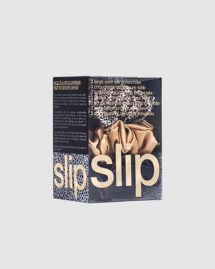 Slip Large Scrunchies - Beauty (Multi Leopard)