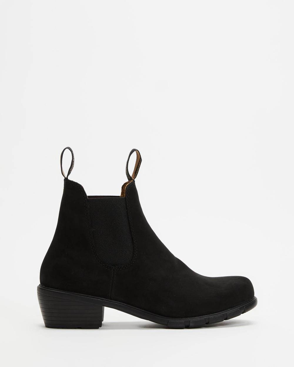 Blundstone 1960 Women's Boots Black Nubuck