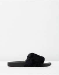 SPURR - ICONIC EXCLUSIVE - Frankie Fur Slides
