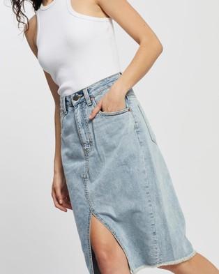 DRICOPER DENIM Worn High Revival Skirt - Denim skirts (Lighties)