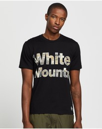 White Mountaineering - Camo Logo Printed T-Shirt