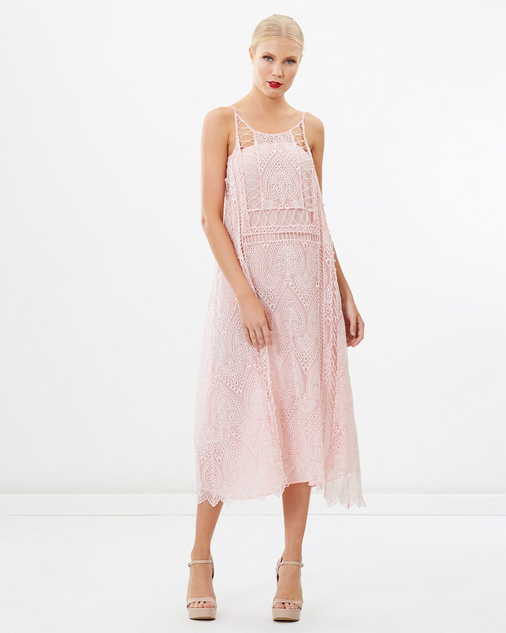Embroidered Bohemian Maxi Dress By Siyona Online The Iconic