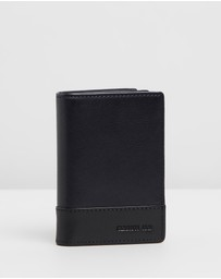 CERRUTI 1881 - Two-Tone Fold-Over Wallet