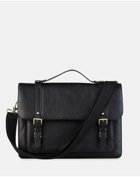 Toffee - Combi Leather Bag
