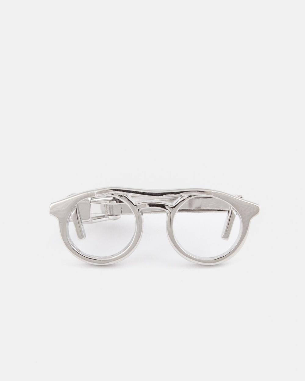 RUMI The Silver Specs Tie Bar Bars Silver Australia
