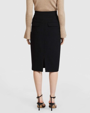 ARIS Pocket Pencil Skirt V2 skirts Black