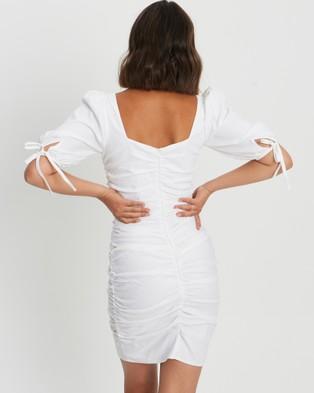 Savel Sorena Mini Dress - Dresses (White)