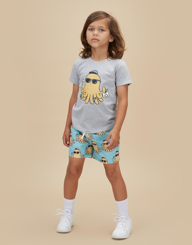 Kids Eco Octo T-Shirt - Babies-Kids