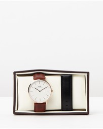 Daniel Wellington - Iconic Exclusive - St Mawes Sheffield 40mm Gift Set