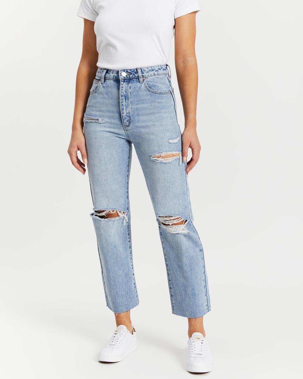 Abrand A Venice Straight Jeans Billie Rip
