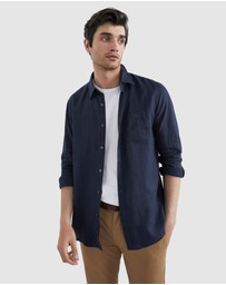 French Connection - Linen Regular Fit Shirt