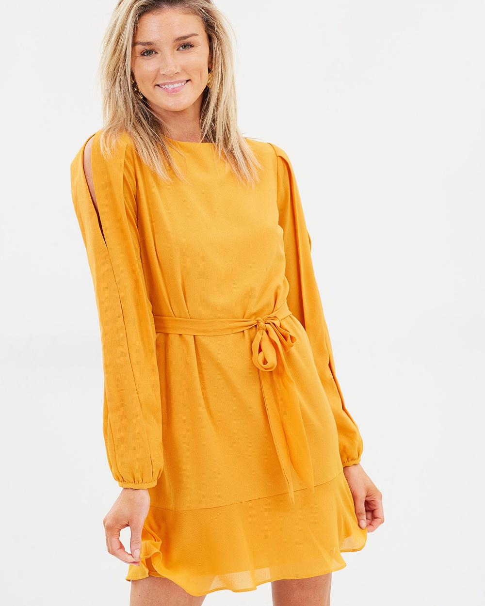 Cooper St Hariette Long Sleeve Mini Dress Dresses Beeswax Hariette Long Sleeve Mini Dress