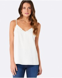 Forever New - Charlotte Embroidered Cami