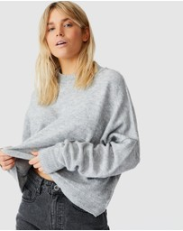 Cotton On - Luxe Fine Gauge Mock Neck Pullover