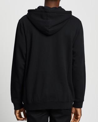 Afends Kicked Out Hoodie - Hoodies (Black)