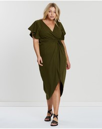 Hope & Harvest - Tulip Wrap Dress