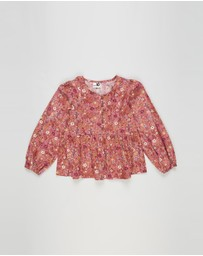 Free by Cotton On - Marloe Long Sleeve Top - Teens