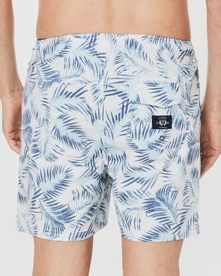 Coast Clothing Beachside Fern Weekender Shorts - Shorts (White)