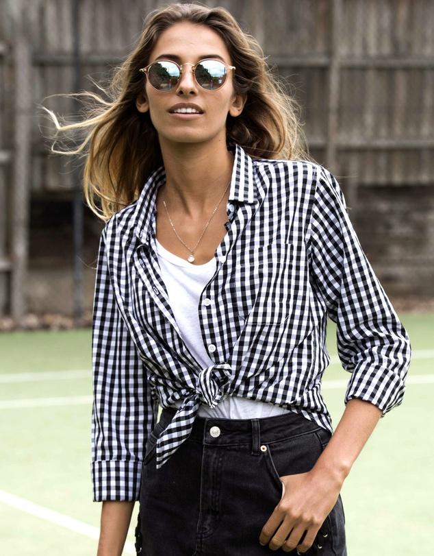 Women Gigi Gingham Shirt