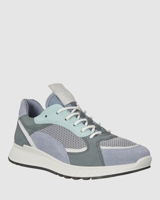 ECCO ST1 Women's Sneakers - Lifestyle Sneakers (Blue)