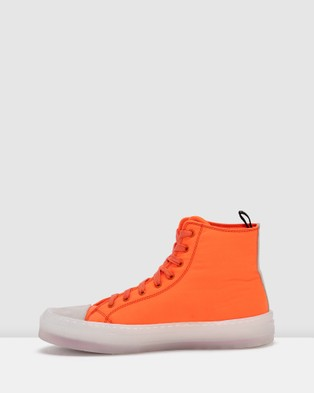 Rollie Ranger High Top Sneakers - Sneakers (Orange)