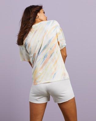 Cools Club Sunday Tee - T-Shirts & Singlets (Faded Tie Dye)