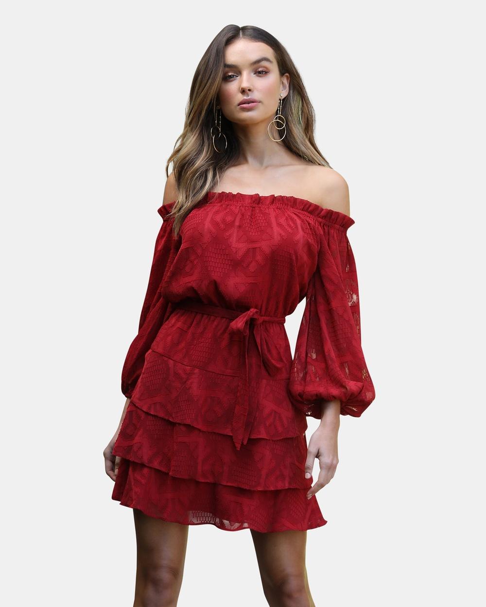 Rodeo Show Harrison Dress Dresses Burnt Red Harrison Dress