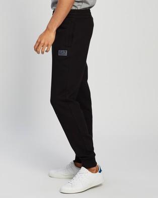 Emporio Armani EA7 Fleece Sweatpants - Sweatpants (Black)