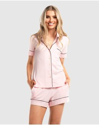 Deshabille Sleepwear  - The Manor Shorts PJ Set