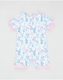 Sunuva - English Floral Sun Suit - Babies