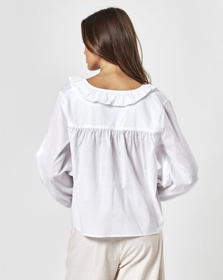 Charlie Holiday Tropaz Blouse - Tops (White)