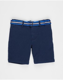 Polo Ralph Lauren - Stretch Chino Shorts - Kids