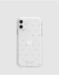 Kate Spade - Kate Spade New York Defensive Hardshell Case For iPhone 11