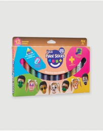 Little Brian Paint Sticks - Face Paint Sticks Classic 12-Pack - Kids